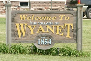 Welcome to the Village of Wyanet, IL on Routes 6 & 34